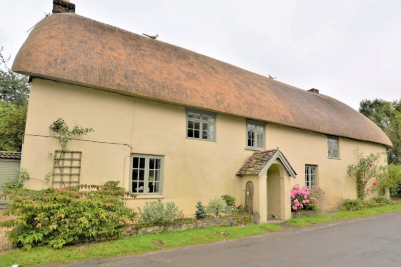 Looking towards the front of the pretty detached cottage