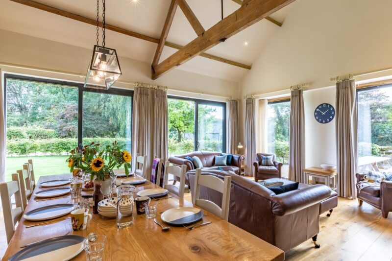 Dining area perfect for family meals
