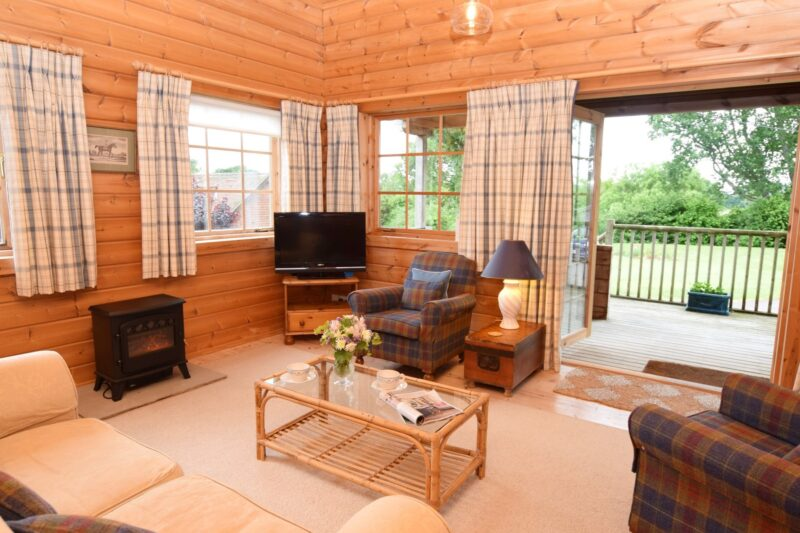 Open the doors from the stylish lounge onto the veranda